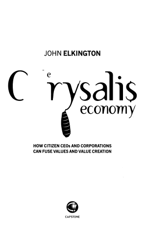 The Chrysalis Economy