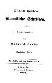 Sämmtliche Schriften: Anastasia und das Schachspiel I, Band 6