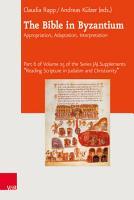 The Bible in Byzantium PDF