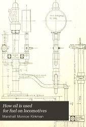 "How oil is used for fuel on locomotives: Supplement to ""The science of railways"""