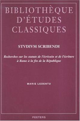 Download Studium Scribendi Book