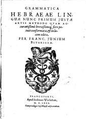 Grammatica Hebraeae linguae