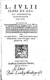 De gestis Romanorum historiarum libri IIII. (etc.)