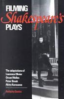 Filming Shakespeare s Plays PDF
