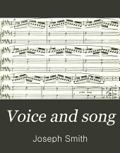 Voice and Song: A Practical Method for the Study of Singing