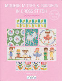 Modern Motifs and Borders in Cross Stitch