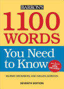 1100 Words You Need to Know PDF