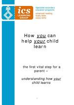 How You Can Help Your Child to Learn
