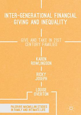 Inter generational Financial Giving and Inequality