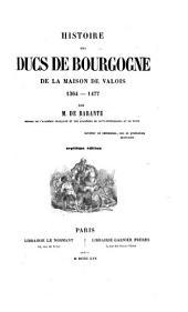 Histoire des ducs de Bourgogne de la maison de Valois, 1364-1477: Volume8