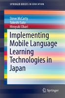 Implementing Mobile Language Learning Technologies in Japan PDF