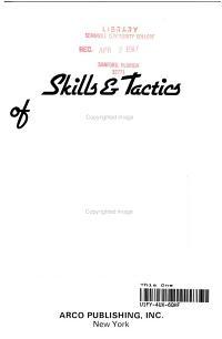 Skills   Tactics of Gymnastics