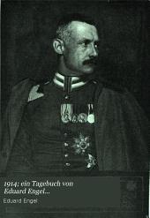 1914; ein Tagebuch von Eduard Engel ...