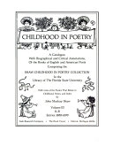 Childhood in Poetry