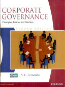 Corporate Governance Principles Polices And Practices 2 E