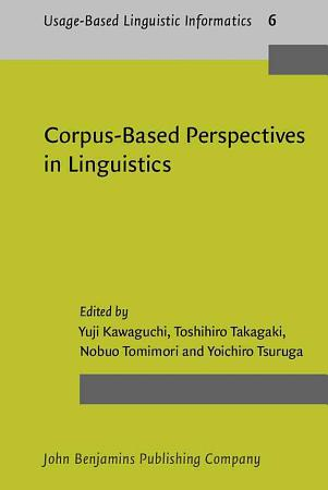 Corpus based Perspectives in Linguistics PDF