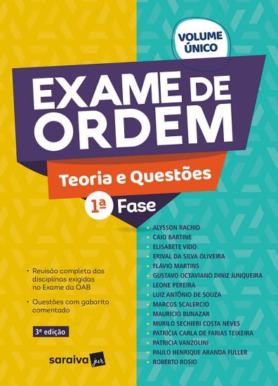 Exame de ordem     Teoria e quest  es     1   Fase PDF