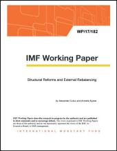 Structural Reforms and External Rebalancing