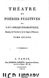 Théâtre: et poésies fugitives, Volume2