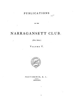 Publications of the Narragansett Club  George Fox digg d out of his burrowes PDF
