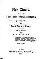 J F  Cooper s Amerikanische romane PDF