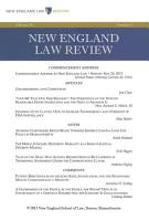 New England Law Review  Volume 48  Number 1   Fall 2013 PDF