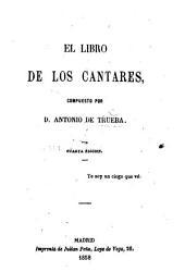 El Libro de los Cantares ... Cuarta edicion