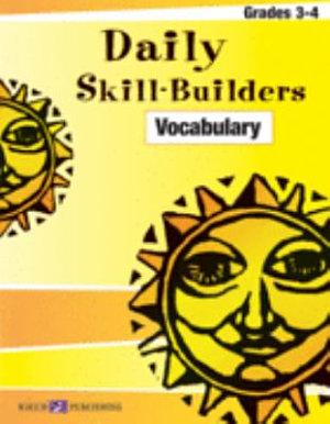 Daily Skill Builders  Vocabulary 3 4 PDF