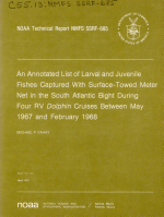 NOAA Technical Report NMFS SSRF.