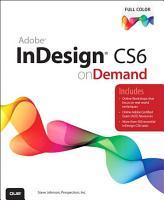 Adobe InDesign CS6 on Demand PDF
