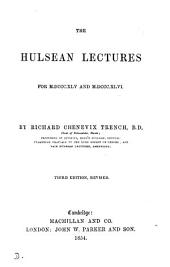 The Hulsean lectures for M.DCCXLV and M.DCCCXLVI.