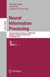 Neural Information Processing: 16th International Conference, ICONIP 2009, Bangkok, Thailand, December 1-5, 2009, Proceedings, Part 1