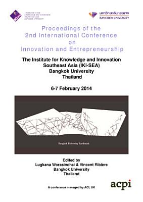 Proceedings of the 2nd International Conference on Innovation and Entrepreneurship