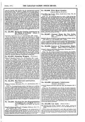 Canadian Patent Office Record: Volumes 15-16