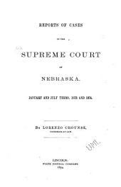 Nebraska Reports: Volume 3