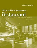 Study Guide to Accompany The Restaurant: From Concept to Operation, 5e