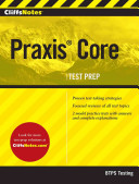 Cliffsnotes Praxis Core Book