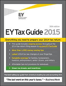 EY Tax Guide 2015 Book