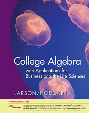 College Algebra with Applications for Business and Life Sciences  Edition PDF
