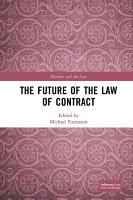 The Future of the Law of Contract PDF