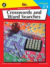 Crosswords and Wordsearches, Grades 2 - 4