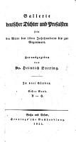 Gallerie deutscher Dichter und Prosaisten seit der Mitte des 12ten Jahrhunderts bis zur Gegenwart  Herausgegeben von Dr  H  D  In drei B  nden  Bd  1  A H  PDF