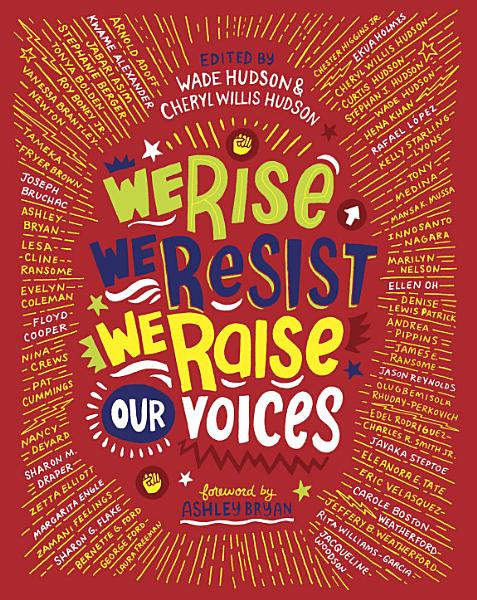 Book Cover of We Rise, We Resist, We Raise Our Voices