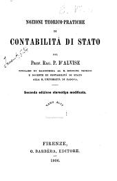 Nozioni teorico-pratiche di contabilità di Stato