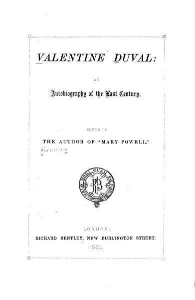 Download Valentine Duval Book