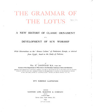 The Grammar of the Lotus