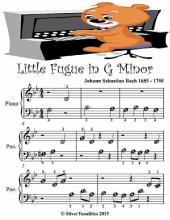 Little Fugue In G Minor - Beginner Tots Piano Sheet Music