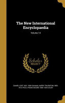 NEW INTL ENCYCLOPAEDIA