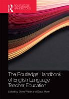 The Routledge Handbook of English Language Teacher Education PDF