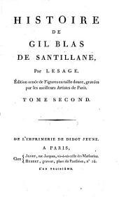 Histoire de Gil Blas de Santillane. Éd. ornée de figures en taille douce: Volume2